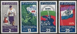 B2945 - Bulgarie 1977 -  Anniversaires 4v. Neufs** - Nuevos