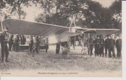 52 – LANGRES – AVIATION MILITAIRE – Monoplan Du Capitaine De Goys à Langres. CPA Superbe état – Circulée Et écrite - Langres