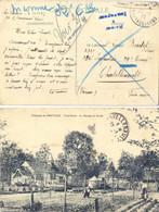 GUERRE 14-18 CP Du 20.1.1915 => SOLDAT 232e Infanterie 29 Cie CHATELLERAULT VIENNE –INCONNU 32 Et 31,Retour à L'envoyeur - Oorlog 1914-18