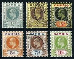 Gambia (Británica) Nº 54/57-59/60 Nuevo*/º - Gambia (...-1964)