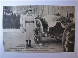 FRANCE - MEUSE - VERDUN - Le Corps Du Soldat Inconnu Dans La Citadelle - 1920 - Verdun