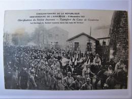 FRANCE - MEUSE - VERDUN - Le Cortège Du Soldat Inconnu Dans Les Rues - Verdun
