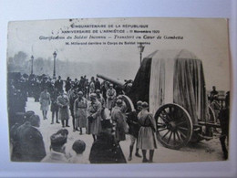 FRANCE - PARIS - M. Millerand Derrière Le Corps Du Soldat Inconnu - Otros