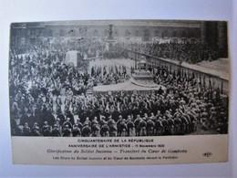 FRANCE - PARIS - Le Char Du Soldat Inconnu Devant Le Panthéon - Otros