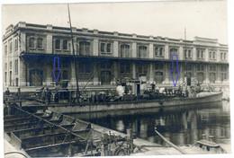 Allemande  Carte  Photo - Ostende - Torpedoboot Hafen . Marinekorps ?  .WWI 1.WK - 1914-18