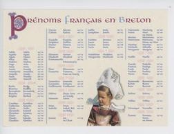 Les Prénoms Français En Breton & Date Des Fêtes - Féminins - Bretagne