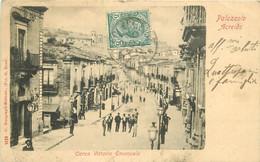 Italia Italie. PALAZZOLO ACREIDE. Corso Vittorio Emanuele 1908 - Siracusa