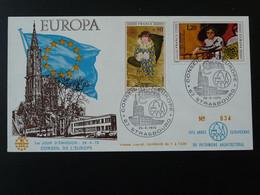 FDC Europa 1975 Année Du Patrimoine Architectural Ref B771 - 1970-1979