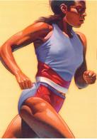 USA Postal Stationary 1996 Atlanta Olympic Games Womens Running Used (G134-20) - Verano 1996: Atlanta