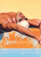 USA Postal Stationary 1996 Atlanta Olympic Games Mens Swimming Used (G134-20) - Verano 1996: Atlanta