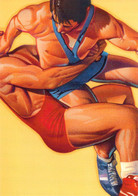 USA Postal Stationary 1996 Atlanta Olympic Games Freestyle Wrestling Used (G134-20) - Verano 1996: Atlanta