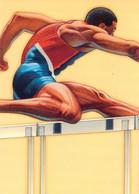 USA Postal Stationary 1996 Atlanta Olympic Games Mens Hurdles Used (G134-20) - Verano 1996: Atlanta