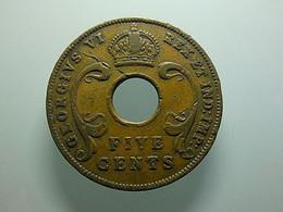 East Africa 5 Cents 1942 - Britse Kolonie