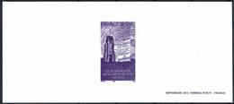 2005 Gravure Loi De Séparation Des églises Et De L'état Sur Papier Velin - Documents Of Postal Services