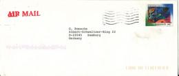 Bahamas Cover Sent Air Mail To Germany 15-10-1997 Single Franked - Bahamas (1973-...)