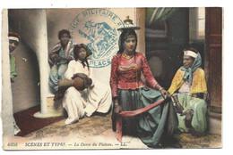 Les COLONIES - Alger - Femmes Dansant + Cachet Militaire 1916 - Women
