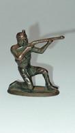 Metal Indianer 3 Brüniert - Figurine In Metallo