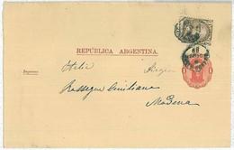 30348 - ARGENTINA - POSTAL HISTORY - Stationery NEWSPAPER WRAPPER To ITALY - H& G # 1 - Postal Stationery