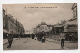 - CPA ALENCON (61) - La Rue Du Cours Un Jour De Marché 1907 (belle Animation) - Edition Tesson (MTIL) N° 28 - - Alencon