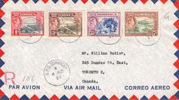 DOMINICA - AIRMAIL 1953 > TORONTO/CA / K4-31 - Dominica (...-1978)