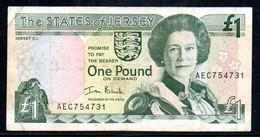 Jersey 1 Pound AEC754 - Jersey