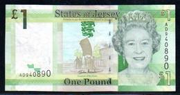 Jersey 1 Pound AD940 - Jersey