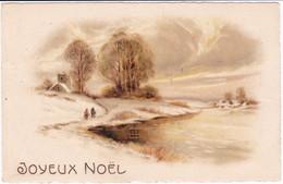 Fête : Noël : Joyeux Noël : Paysage Enneigé - Other