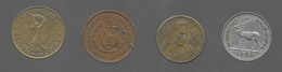 Lot De 4 Monnaies : Hongrie / Chypre / Yougoslavie / Maurice (1015) - Lots & Kiloware - Coins