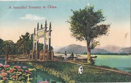 CPA Chine A Beautiful Scene In China - China