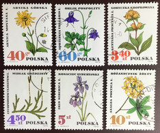 Poland 1967 Medicinal Plants CTO NH - Heilpflanzen