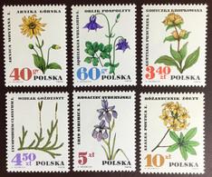 Poland 1967 Medicinal Plants MNH - Heilpflanzen