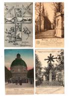 SCHERPENHEUVEL - 4 Kaarten - Uitgave Legia (1926) + Desaix (1911 ) + Stalmans ( 1923 ) + L'église ( 1913 ) - Scherpenheuvel-Zichem