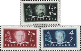 Yugoslavia 545-547 (complete Issue) Unmounted Mint / Never Hinged 1948 Academy Zagreb - Ungebraucht
