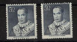 ESPAÑA ** 1102 Nuevo Sin Charnela. Cat.17,50 € - 1951-60 Ungebraucht