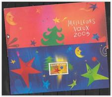 France 2004 Bloc Souvenir N° 3 Neuf Meilleurs Voeux - Foglietti Commemorativi