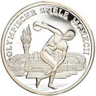 Espagne, Médaille, Les Jeux Olympiques De Barcelone, 1992, BE, FDC, Argent - Other