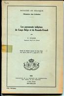 Les Paysannats Indigènes Du Congo Belge Et Du Ruanda-Urundi , Staner - Bélgica