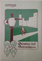 AREZZO - GIOSTRA DEL SARACINO - 60° ANNIVERSARIO DELLA RIEVOCAZIONE STORICA 1931/1991 - Arezzo