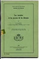 Congo Belge Les Termites Et Les Moyens De Les Détruire , Schmitz - Bélgica