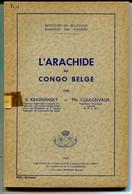 L'arachide Au Congo Belge , Krasniansky – Coulonvaux - Bélgica