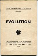 Congo Belge - Pour Connaître Le Congo: Evolution - Bélgica