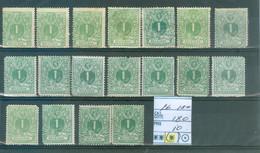 26  18x  (x) Côte  180 € - 1869-1883 Leopoldo II