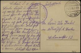 LETTLAND 2006 BRIEF, K.D. FELDPOSTSTATION NR. 168 **, 9.11.16, Auf Ansichtskarte (Libau-Rosenplatz Und Große Straße) Aus - Lettland