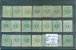 26  21x   (x) Côte  210 € - 1869-1883 Leopoldo II