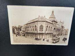 Oostende - Théâtre Royal - Koets - Paard - Tram - Auto - Oostende