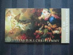 Adoration Of The Shepherds, By François Le Moyne.  Booklet. Vatican Vatikan Vaticano MNH 2005 #1542 Christmas - Ongebruikt