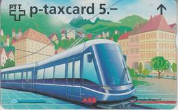 SWITZERLAND - PHONE CARD - PRVÉE - FF *** TRAIN & TRAM *** - Suisse