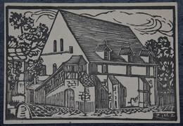 18 : Bourges - Grange Des Dimes - Invitation à La Kermesse De La Maîtrise - Mai 1956 - Dessin De Zimz ?? - (n°20957) - Bourges