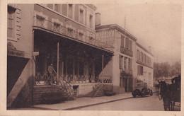 40) DAX (LANDES) LA GRANDE STATION  DES RHUMATISANTS - COURS DE VERDUN - L ' HOTEL GRACIET ET MIRADOUR - 2 SCANS - Dax