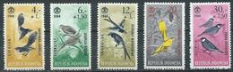 Indonésie YT N°398/402 Oiseaux Neuf ** - Indonésie